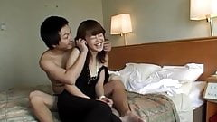 Mai Satsuki in elegant dress has cunt licked