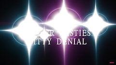 Silver Pasties Titty Denial