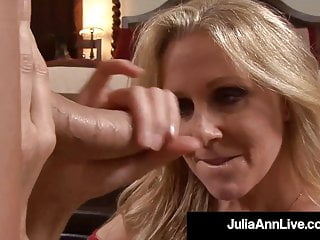 American Woman Julia Ann Face Fucks Hard Cock Point Of View