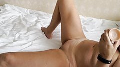 Orgasm, Sex Toy, Girl Masturbating's Thumb