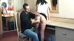 Femme de menage sodomisee par le proprio