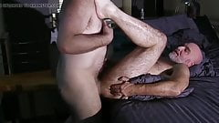 Two daddies have a great fuck