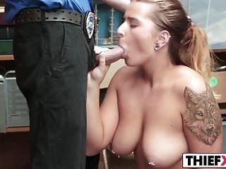 Massive Tits Teen Stealer Gets Fucked