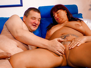 LETSDOEIT - Horny Mature German RedHead Gives the best Head