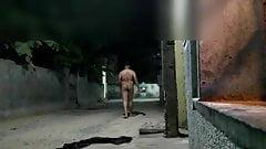 Nude walk on road india
