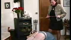 Granny Straps and Spanks the Boy pt2