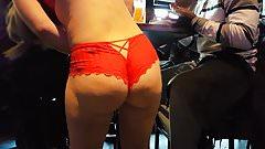 Waitress ass 6