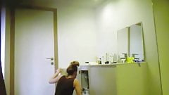 18 year old sister shower spy cam bathroom