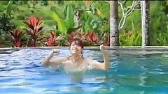 Sayuki Matsumoto Swimpool Fun - non nude