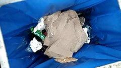 Wife throw away old pantyhose 001