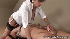 Lady Sonia Strapped Down And Fucked Hard's Thumb