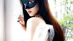 Gorgeous brunette Eva Kahil
