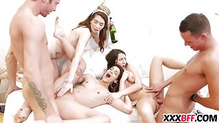 Hot New Years Eve Party