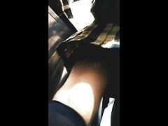Upskirts Bajo la falda chica de prepa