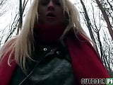 Blonde hottie Cayla Lyons has small tits and loves to suck