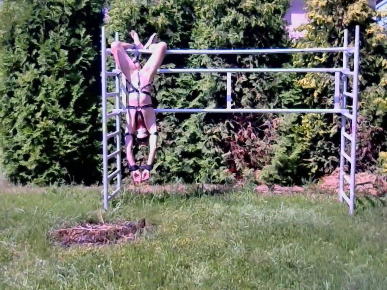outdoor bondage Gay