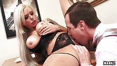 WANKZ- milf Boss Nina Elle Abuses Her Power