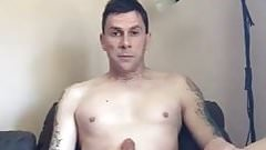 Aussie nudist with a boner 2