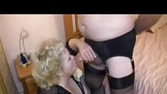 Granny gay porn