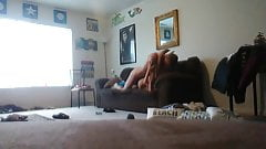 Amateur country couple first sextape