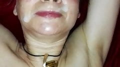 Homemade Mature Facial