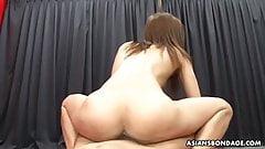 Kinky Japanese bitch, Aoi Mikami got a massive facial cumsho
