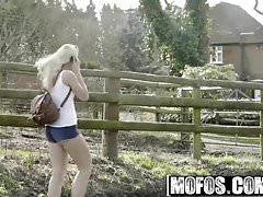 Mofos - Stranded Teens - Damsel in Distress Deepthroats star