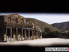 XXX Porn video - Rawhide Scene 1 Misha Cross and Emilio Arda
