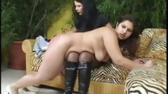 Mistress and her chubby Maid 2
