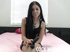 I can show you how a pro sucks cock JOI