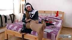 Sofi Goldfinger is a hot nylon nun