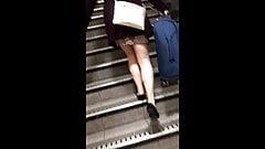Candid Miniskirt