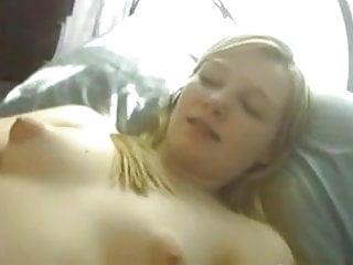 Teen with beautiful tits masturbating