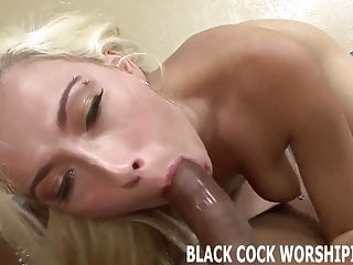 Watch this big black stud drill my tight ass