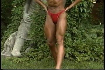 Sexy muscle babes summer kalish, gemma merna hot legs