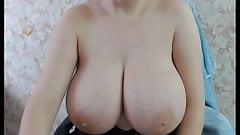 Riesige runde russische Titten