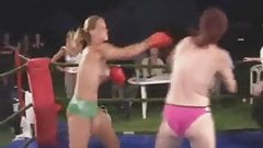 Real Topless Boxing Match