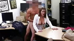 Cheating wife fucks with boss