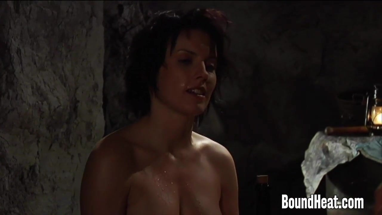 whipped Handcuffed naked women