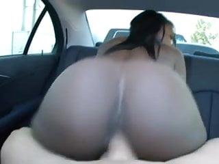 sexy round black ass ride big cock