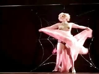 Spider Dance By Big Arse Nordic Western Blonde Woman