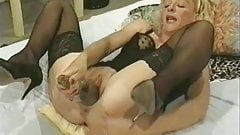 Amateur - Hot Mature Fists Dildos & Bottles - Hubby Films