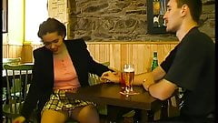 Shared wife with others in pub