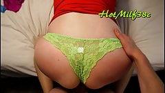 Buy Hot Milf's creamy, scented panties!