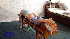 spanking barefeet