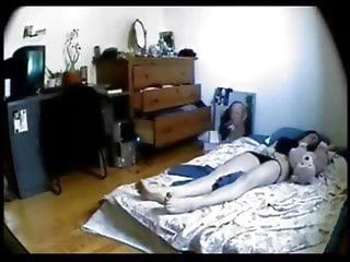 Hidden cam masturbation and orgasm 2, real time speed