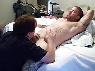 Big Dick Stud Gets Serviced ( Big Dick Blow Job & Cum )