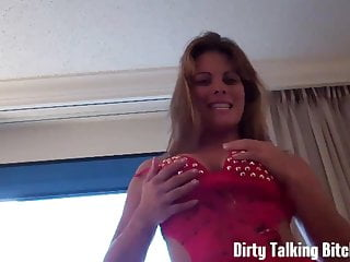 Look at my perky tits while you stroke your cock JOI