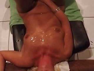 Mulitple guys cum all over my wife