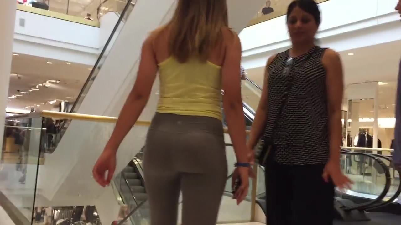 Teen Black Leggings Fuck